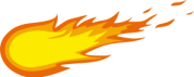 Fireball logo Supplied by OpenClipart.org